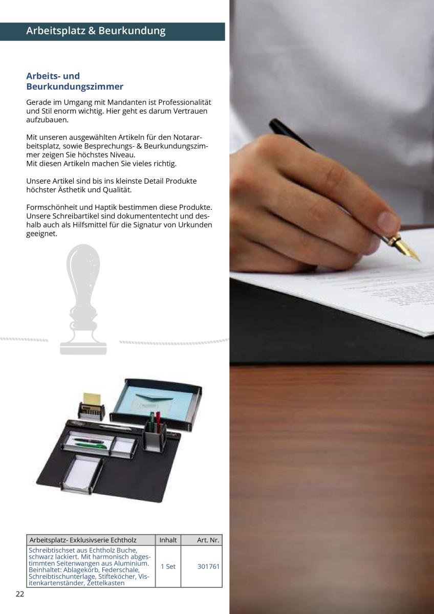 notarbedarf katalog zoom 23 oerter gmbh. Black Bedroom Furniture Sets. Home Design Ideas